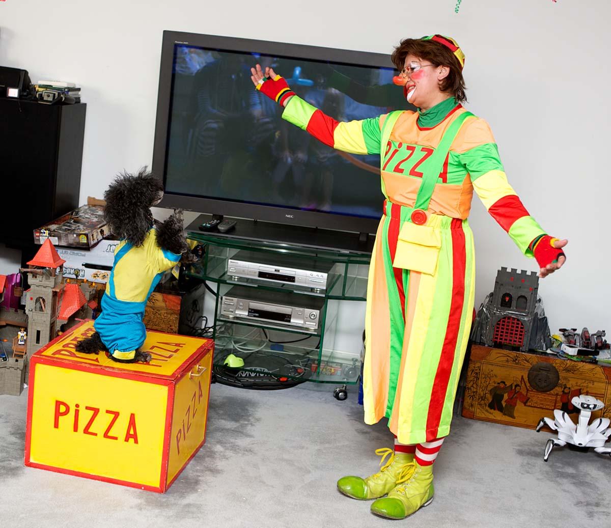 Клоуны и дрессированные животные
